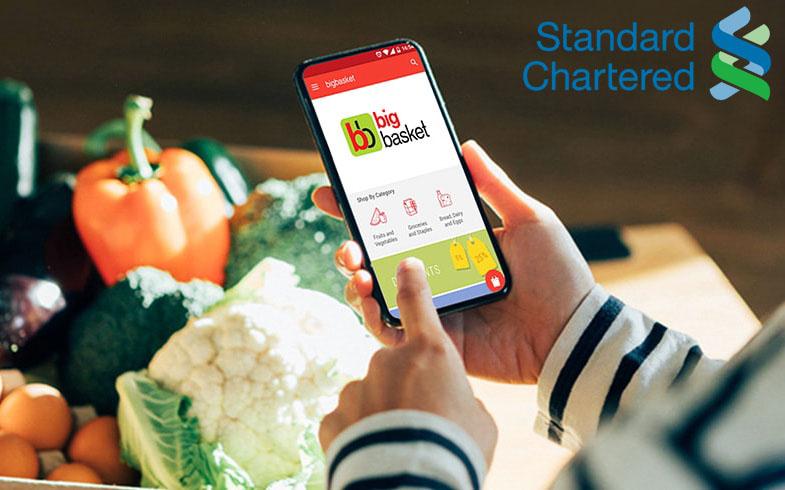 Standard Chartered BigBasket Offer