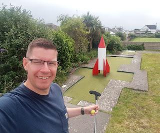 Crazy Golf course in Prestatyn
