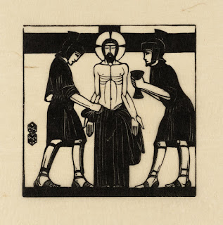 Eric Gill, Jesus is Stripped, 1917, photo (c) Tate