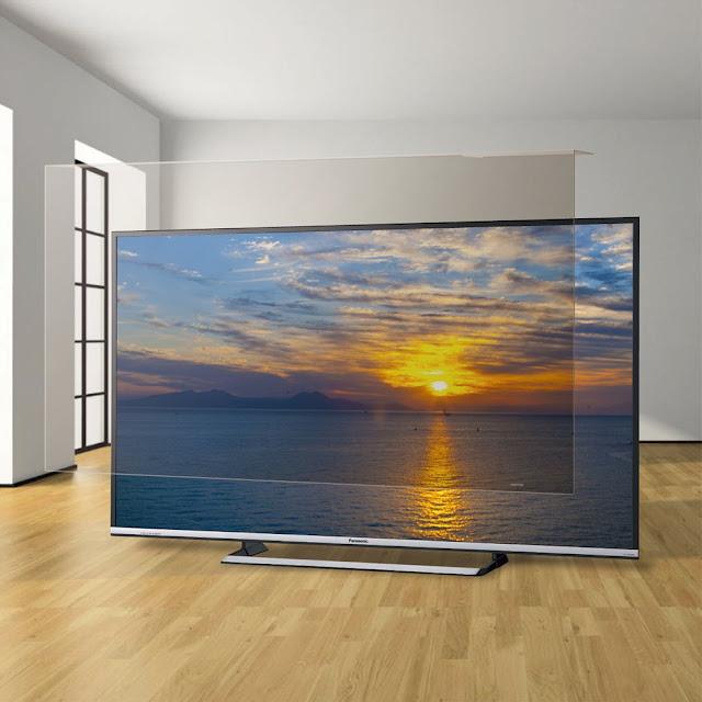 غطاء حماية شاشة تلفزيون 75 بوصة