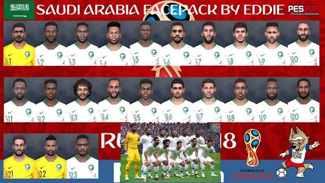 Arab Saudi Facepack PES 2017