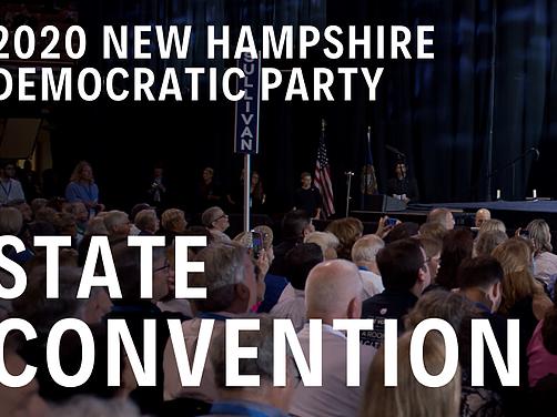 2020 Virtual NHDP State Convention Saturday, May 9th