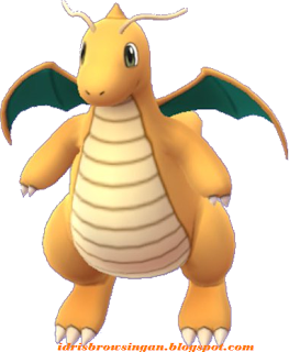 Dragonite Pokemon GO Cantik