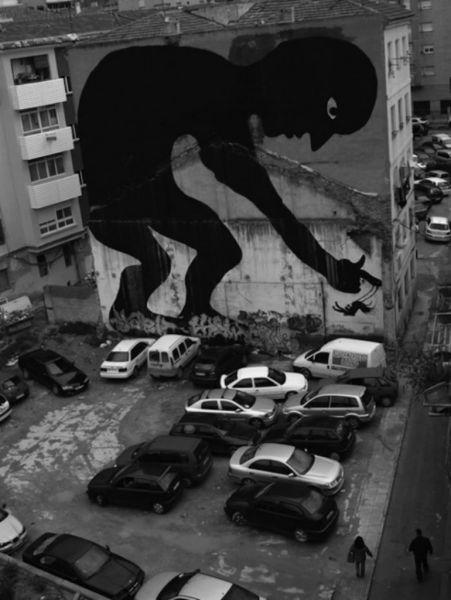 الفن بأى شىء وعلى أى شىء street-art-work-46.j
