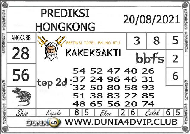 Prediksi Togel HONGKONG DUNIA4D 20 AGUSTUS 2021