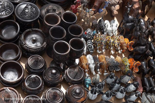 African Craftmanship: African Art & Craft Market - Boulders Beach, Simon's Town