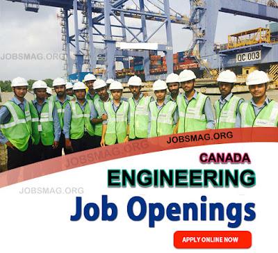 Engineering Jobs Vacancy in Canada – Apply Now