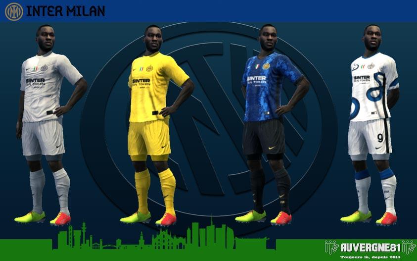 Kits Inter Milan 2021-2022 For PES 2013