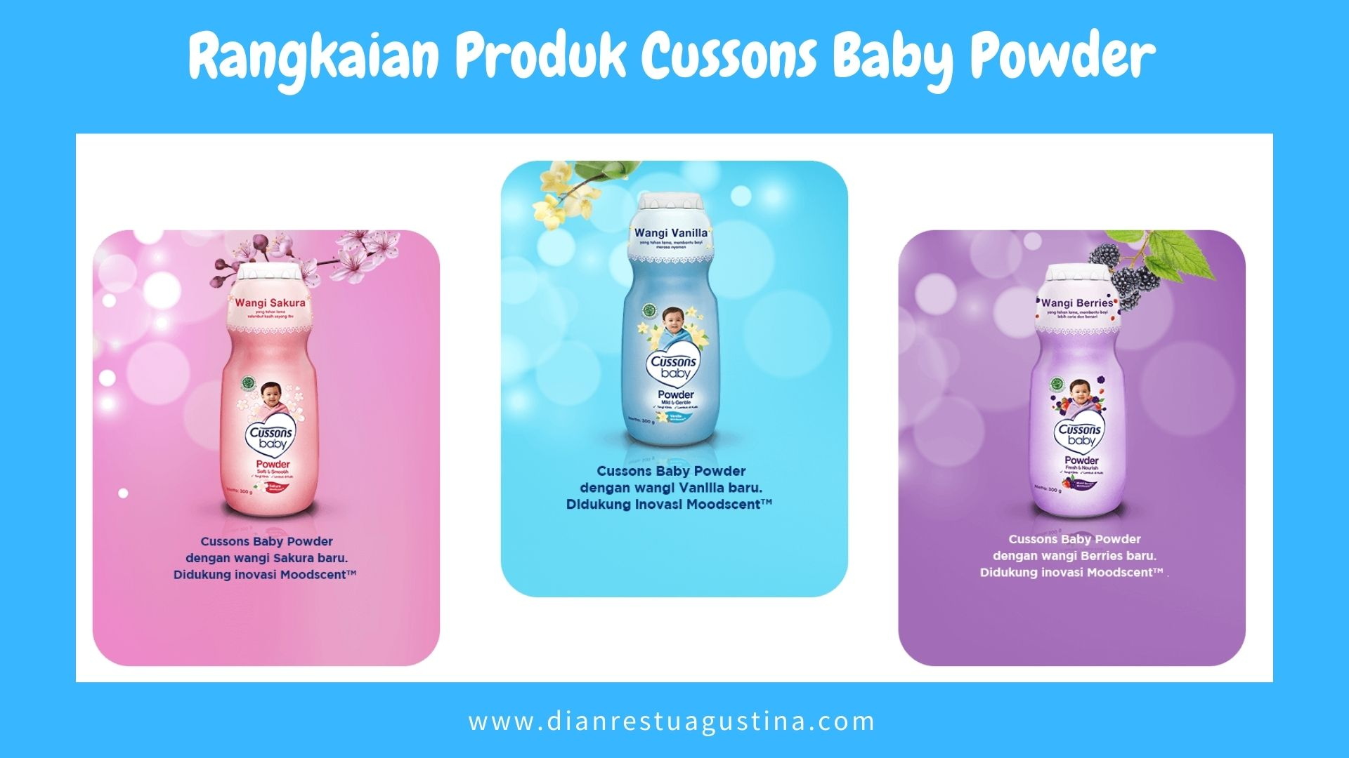 Review Cussons Baby Powder