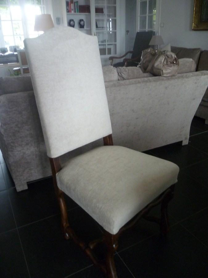 myriam bouin tapissier d corateur chaises louis xiii. Black Bedroom Furniture Sets. Home Design Ideas