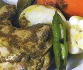 pachamanca de pollo a la olla
