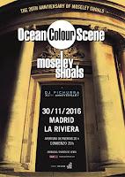 Concierto de Dj Pichura, ocean Color Scene y Moseley Shoals en La Riviera