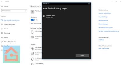 Menghubungkan Speaker Bluetooth ke Laptop Windows 10 dengan cepat