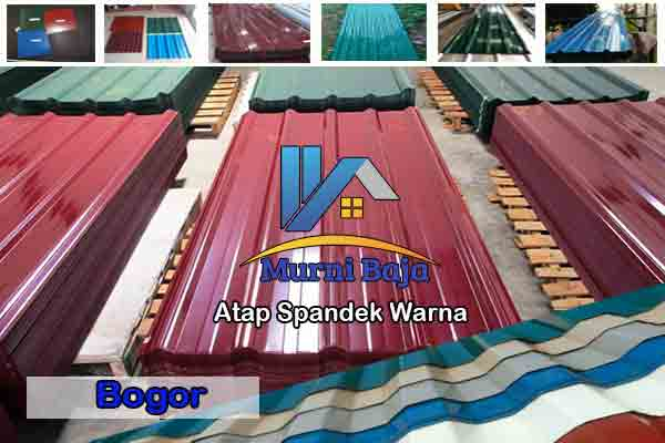 Harga Atap Spandek Warna Ciseeng