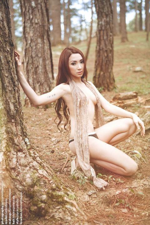nadine lopez sexy topless pics 04