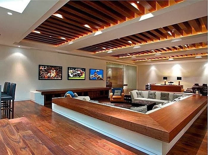Designer in teal man caves - What is a man cave ...