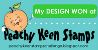 Peachy Keen Stamps Challenge Winner