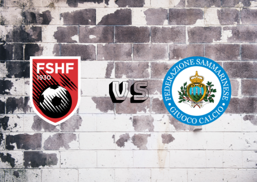 Albania vs San Marino  Resumen