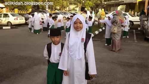 Sambutan Maulidur Rasul 2014 : Atikah & Nuqman