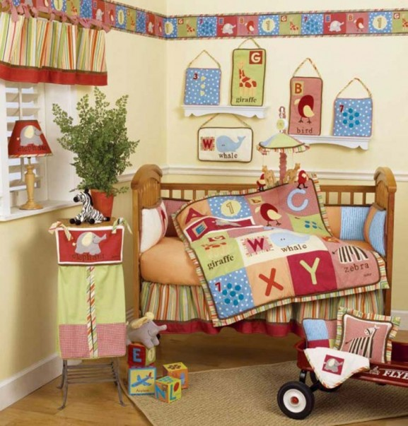 Dream House: Baby Nursery Bedding Sets, Themes and Ideas - Baby Nursery Bedding Ideas
