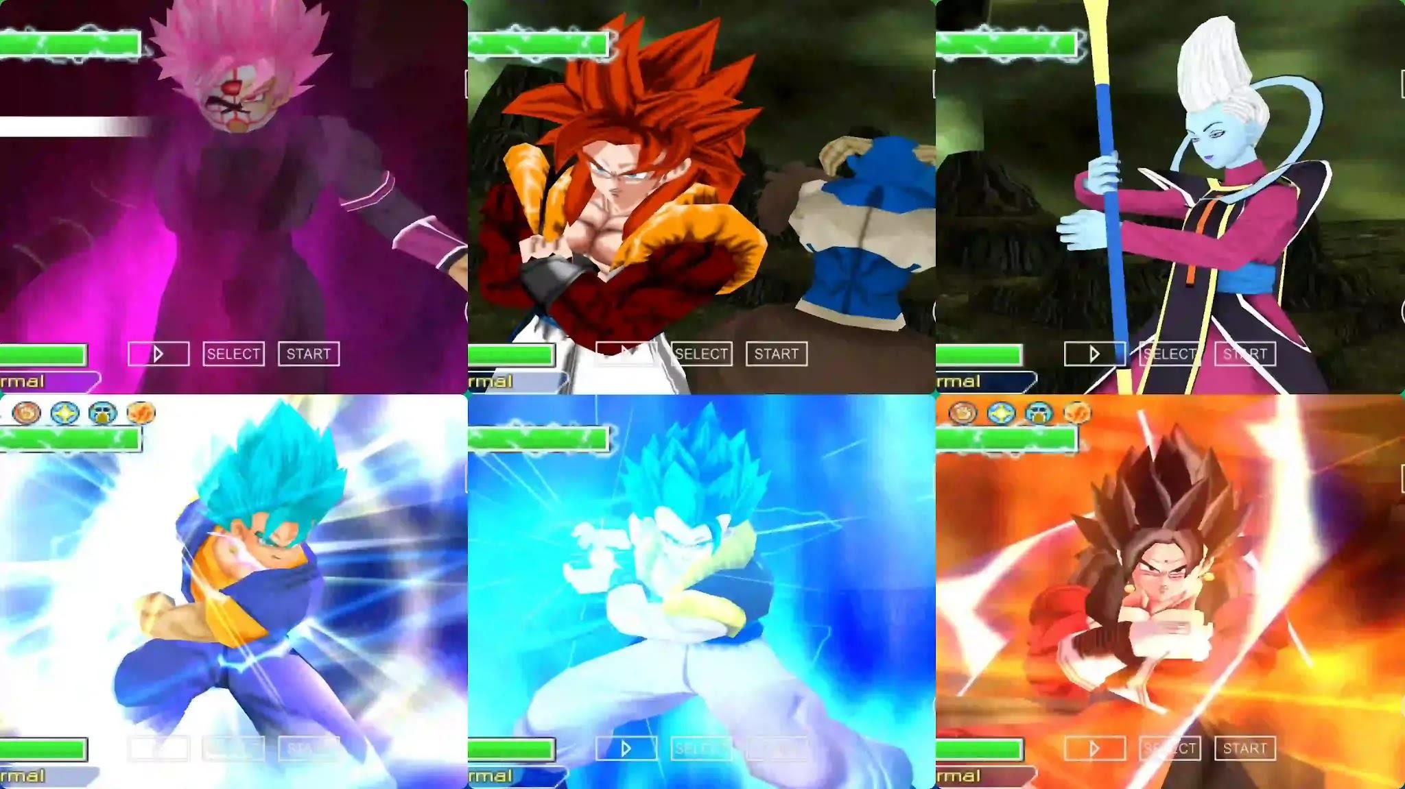Dragon Ball Heroes Black Goku VS Gogeta