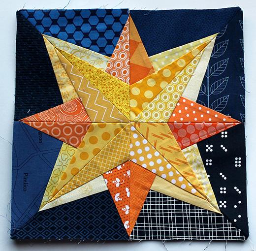 Twinkle Block Quilt Free Pattern