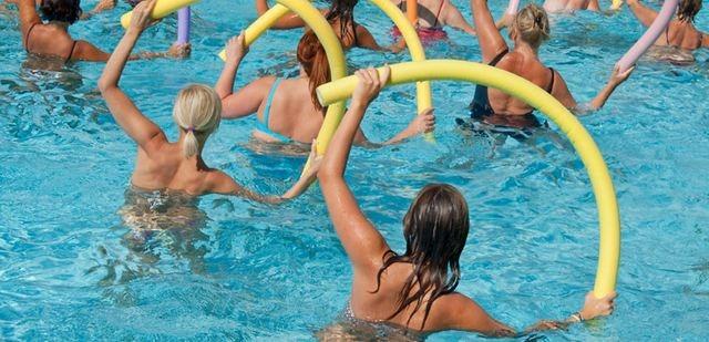 Aqua aerobic από τον Πολιτιστικό Σύλλογο Βιβαρίου