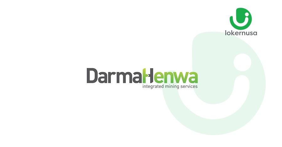 Lowongan kerja tambang terbaru kali ini berasal dari perusahaan PT Darma Henwa.