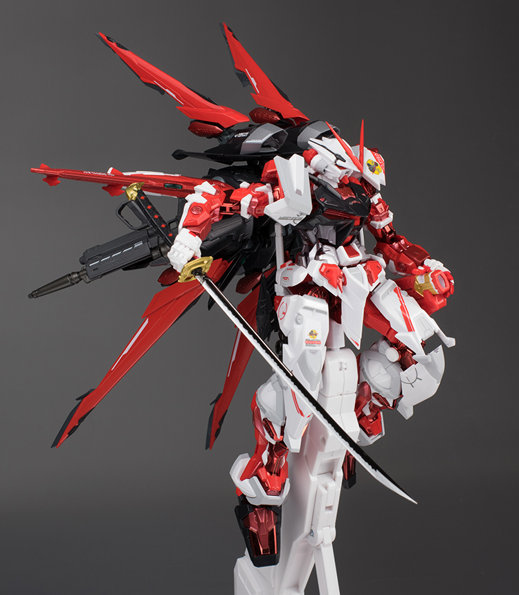 METAL BUILD Gundam Astray Red Frame + Flight Unit Option Set   Review By  Schzophonic9