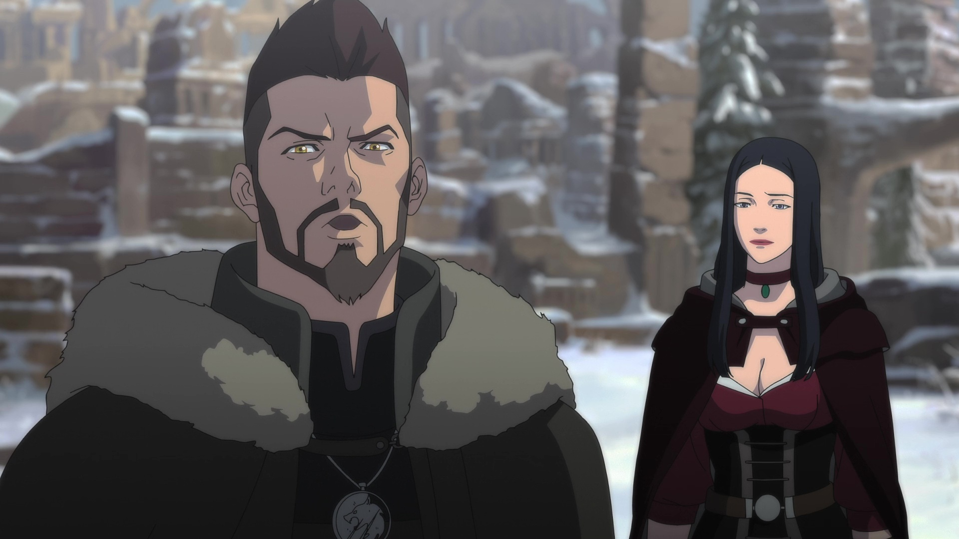 The Witcher: La pesadilla del lobo (2021) 1080p 60FPS WEB-DL Latino