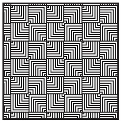overlapping pattern