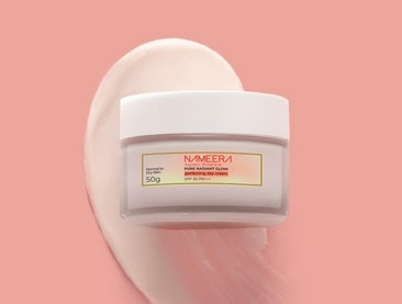 Review Nameera Day Cream di Kulit Berminyak