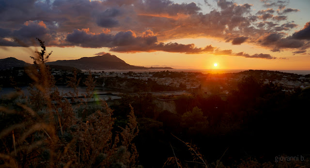 Panorama di Procida e di Ischia