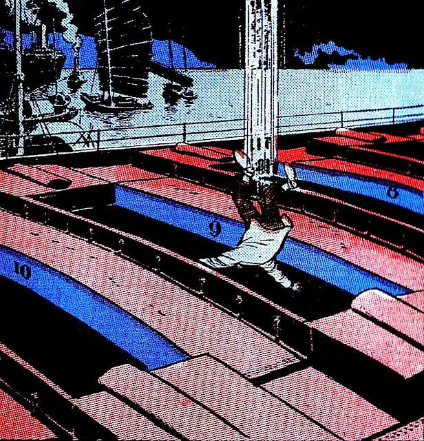 Milton Caniff falling man