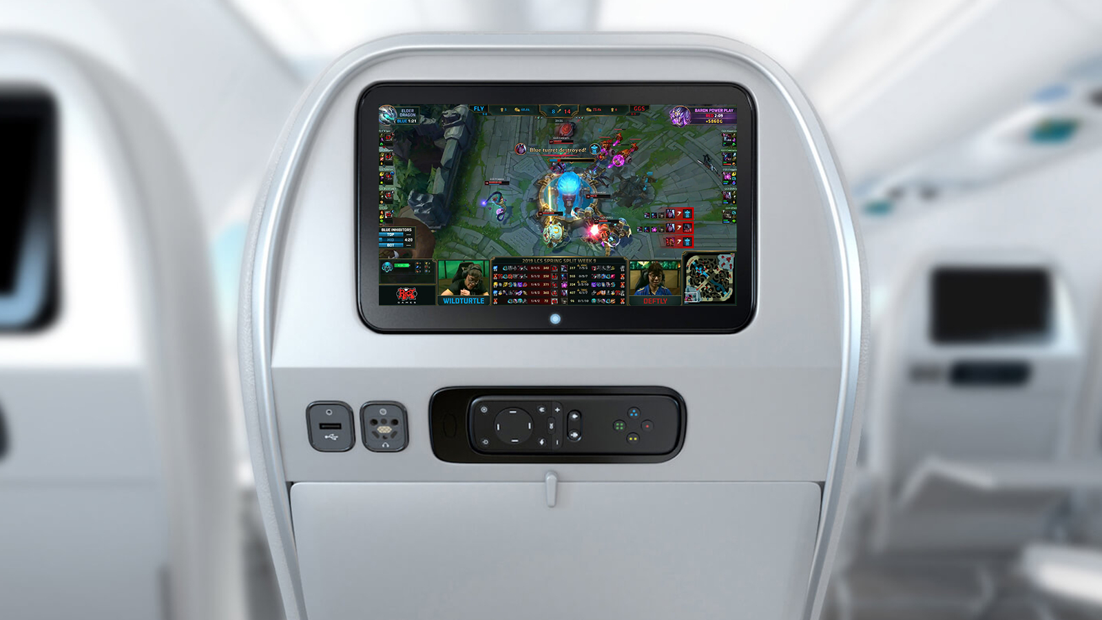 NÓNG: Các trận đấu LMHT sẽ được phát sóng trên máy bay