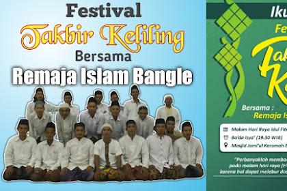 Festival Takbir Keliling Remaja Islam Bangle, Rayakan Kemenangan dan Dapatkan Hadiah Undian
