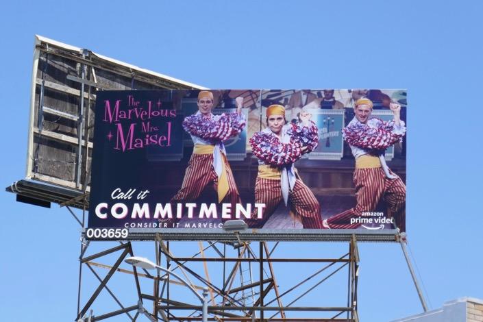 Mrs Maisel Commitment 2019 Emmy FYC billboard