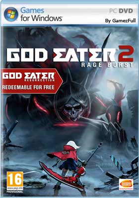 GOD EATER 2 Rage Burst PC [Full] Español [MEGA]