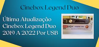 atualização cinebox legend duo