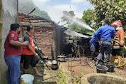 Lagi, Satu Rumah Di Bojongsari Terbakar, Diduga Akibat Tungku Belum Padam