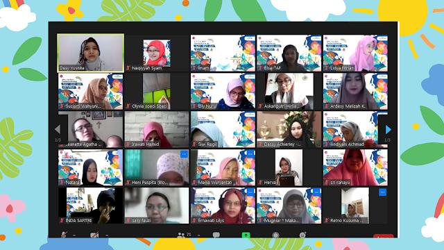 peserta webinar read aloud