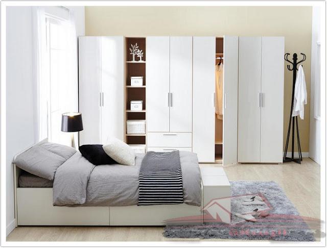 مقارنة أثاث غرفة النوم المجهزة بوحدات قائمة بذاتها