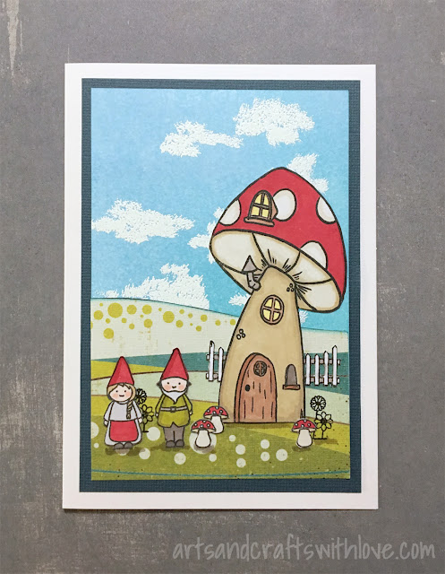 Cardmaking: Gnome is where your heart is