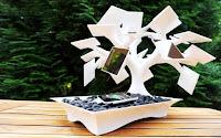 Teknologi yang terinspirasi dari struktur jaringan tumbuhan - charger tenaga surya