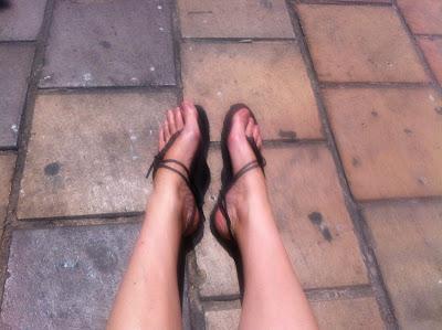 huaraches sandales minimalistes vibram