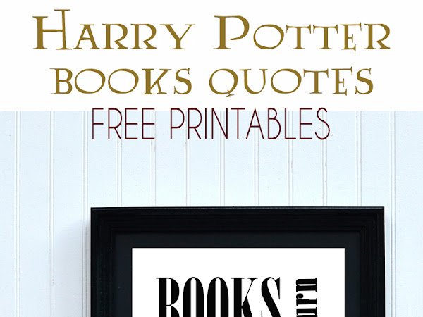 J.K Rowling Book Quote Printables - Harry Potter Printable
