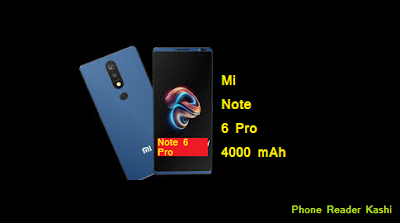redmi note 6 pro specification