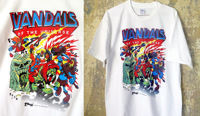 "He-Man and the Masters of the Universe ""Vandals of the Universe"" T-Shirt by Flying Fortress"