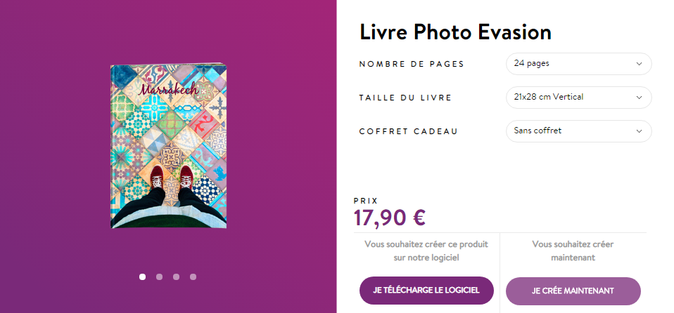 livre photo promo