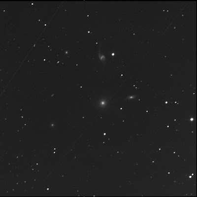 galaxy group Hickson 93 in luminance